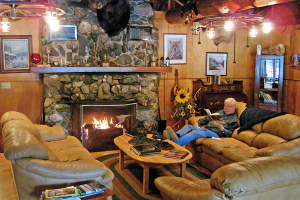 Northern Lights Lodge, Quesnel Lake, BC