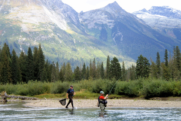 Guided Fly Fishing in BC, Northern Lights Lodge
